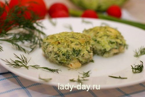 Котлеты из капусты,  рецепт