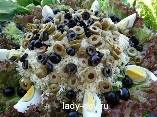 летний салат на праздничный стол