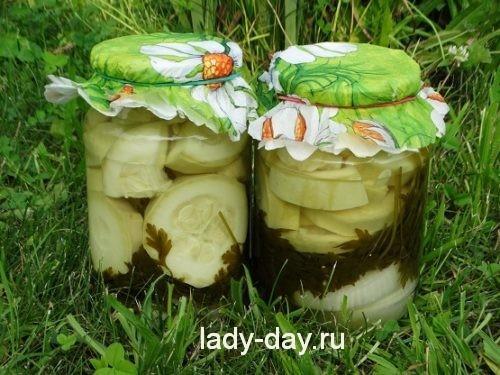 кабачки с луком на зиму