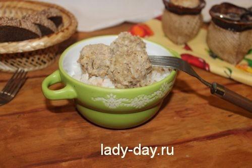 ежики из риса и фарша рецепт