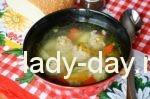 Вкусный суп с фрикадельками: пошаговый рецепт с фото