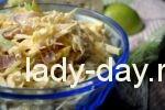 салат из свежей капусты с курицей рецепт с фото очень вкусный