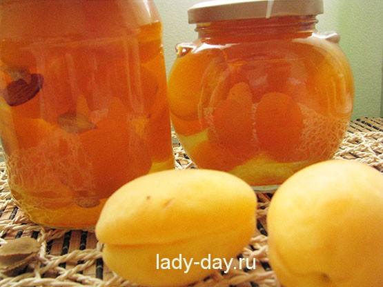 абрикосовое варенье рецепт с фото дольками без воды