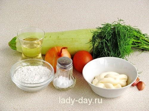 Оладьи с соусом 1