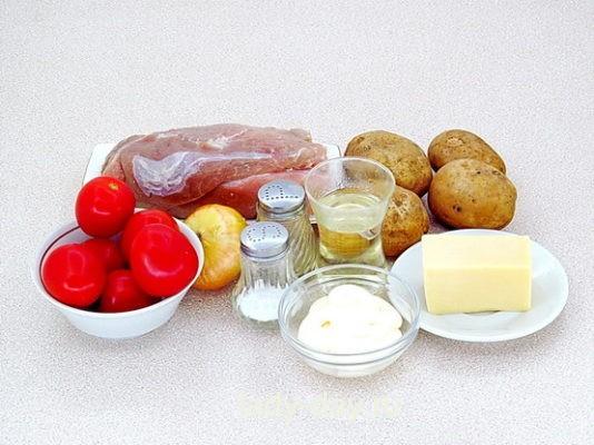 Мясо по-французски ингредиенты
