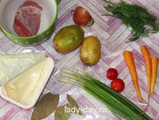Детский суп ингредиенты