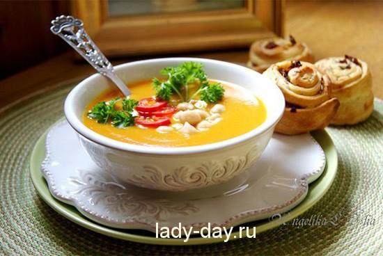 Карри-суп с нутом