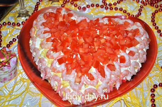 салат с любовью рецепт с фото