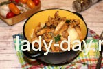 кальмары со сметаной и соевым соусом