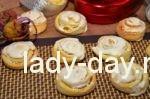 Печенье розочки из творога