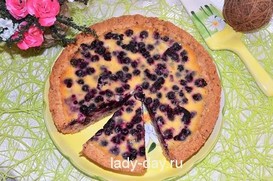 пирог смородиновый