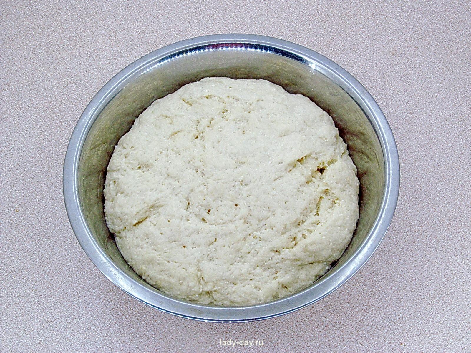 Тесто для кулича