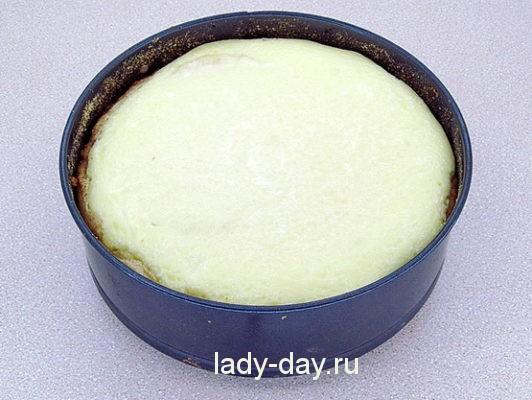 пирог сметанный в духовке