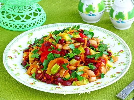 Овощное рагу с кабачком рецепт с фото