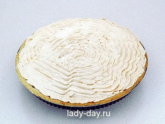 яблочный пирог с безе в духовке