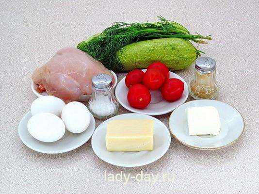 продукты для запеканки