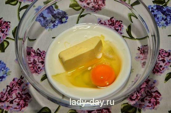 масло и яйцо