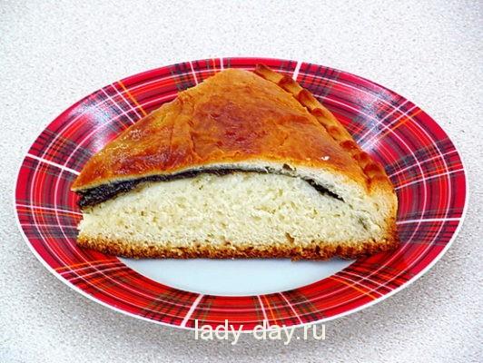 Рецепт пирога со щавелем из дрожжевого теста