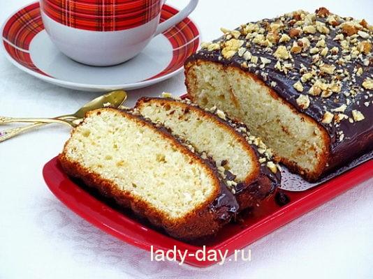 творожный кекс самый вкусный рецепт в духовке с фото