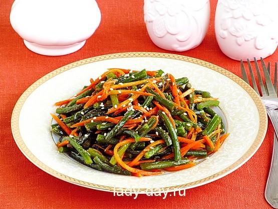 Рецепт чесночных стрелок по-корейски