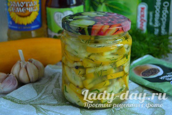 салат из кабачков как грибы