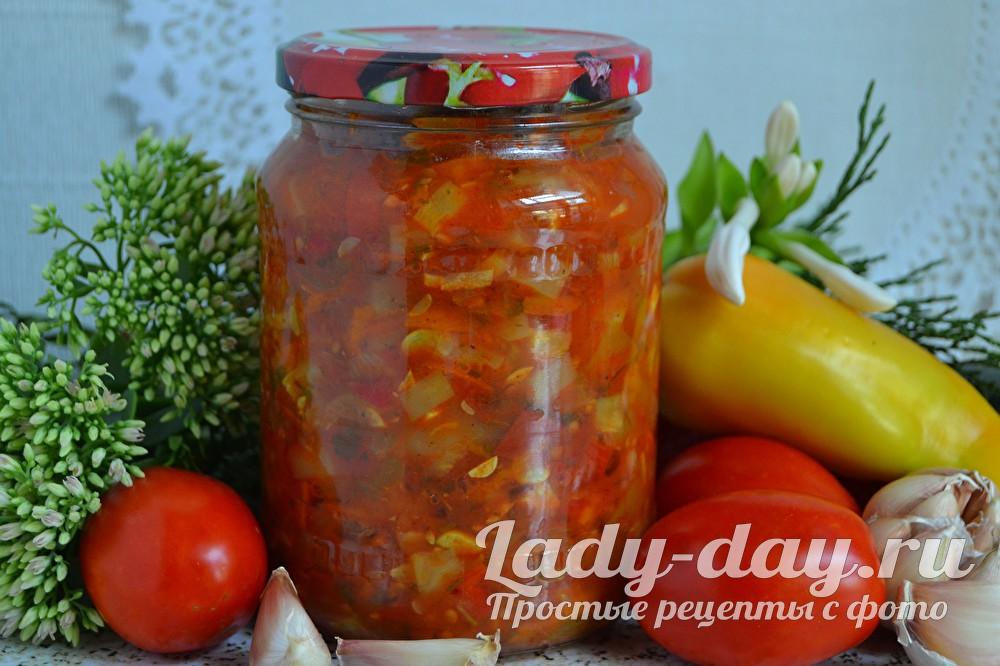 салат на зиму анкл бенс из кабачков рецепт