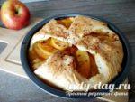 яблочный пирог быстрый