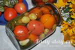 Помидоры с виноградом на зиму, рецепт
