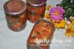Салат из огурцов и баклажан на зиму