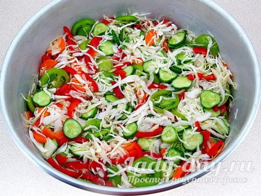 отжать салат