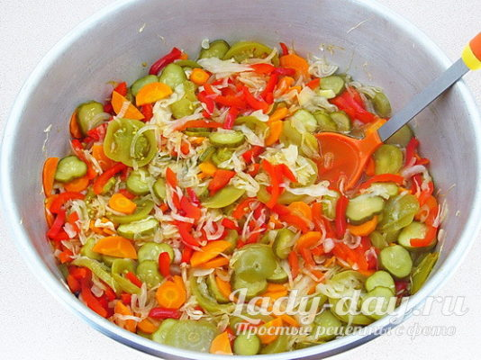 салат варить 10 мин