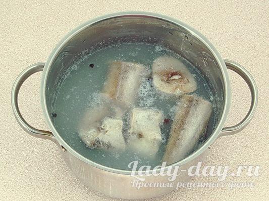 варить рыбу