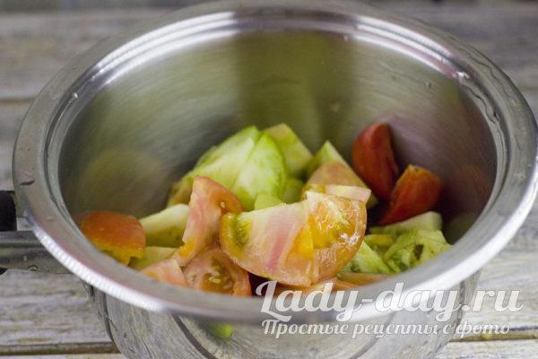 Овощи в миске