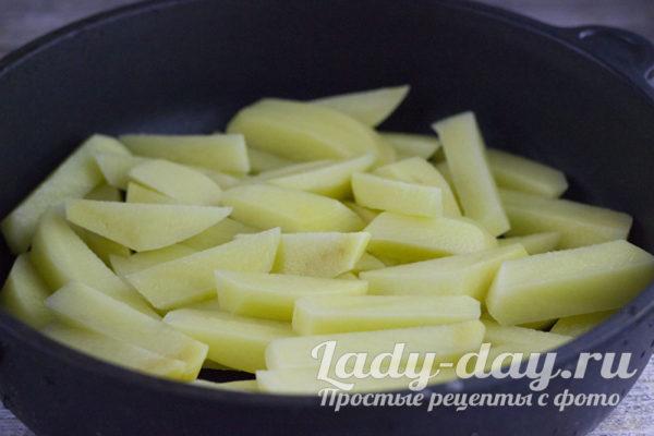 Порежем картофель