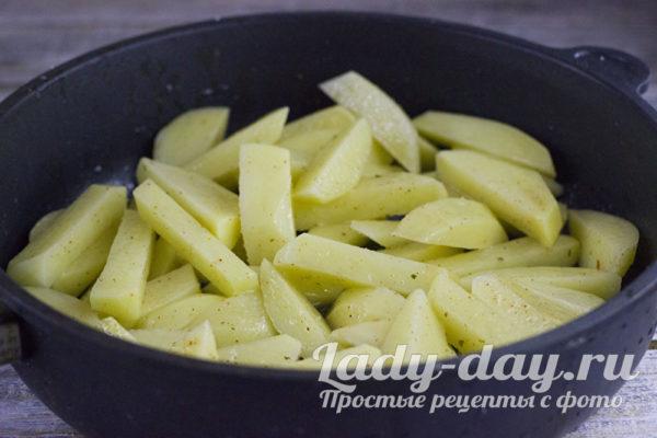 Посолим картошку