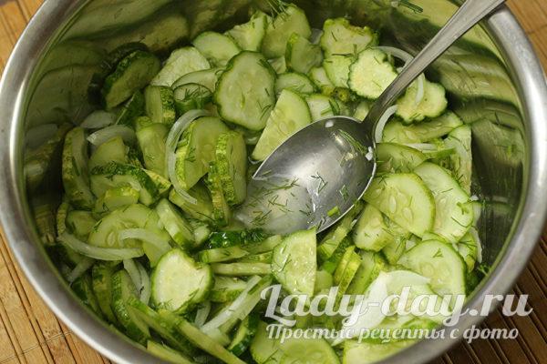 дать салату постоять