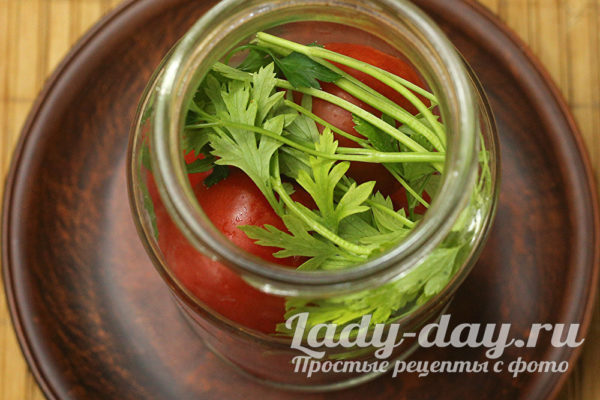 заполнение помидорами
