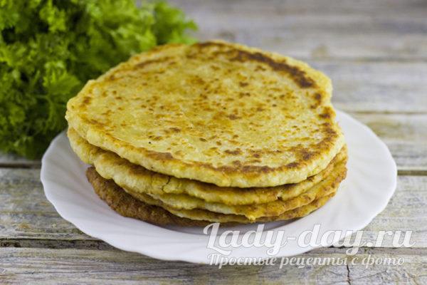 сочные лепешки с сыром