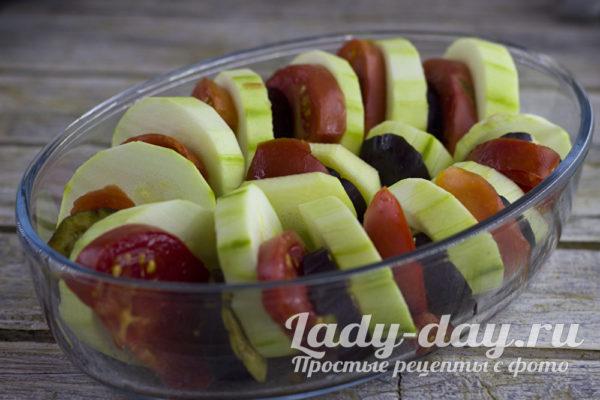 подготовка овощей к запеканию