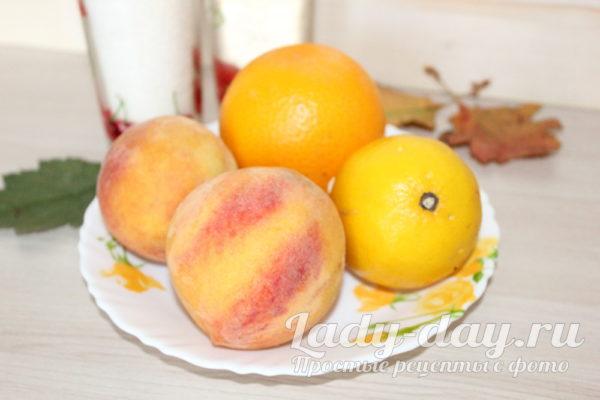 персик лимон апельсин