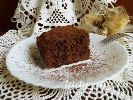 шоколадный торт простой