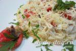 салат из горбуши консервированной