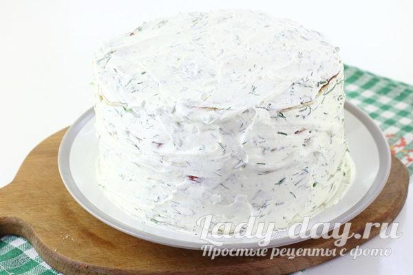 готовый торт из кабачков рецепт