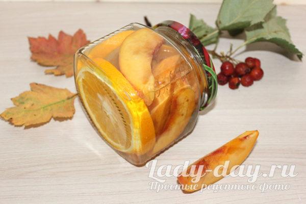 Персики в сиропе на зиму, рецепт с фото без стерилизации
