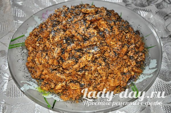 торт муравейник из печенья со сгущенкой рецепт с фото