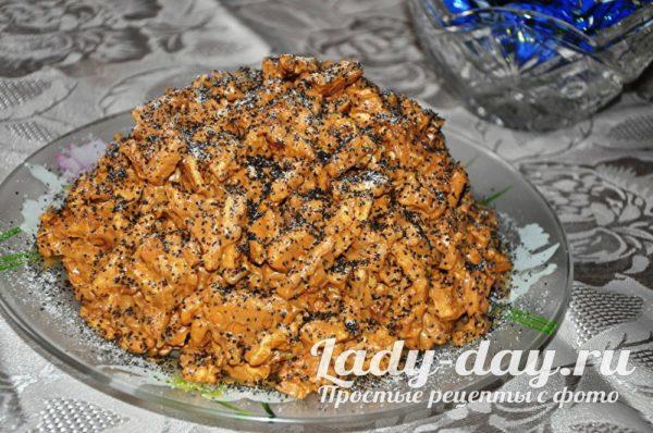торт муравейник без выпечки
