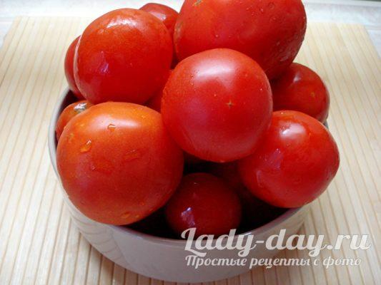 Подготовить помидор