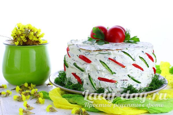 лучший рецепт кабачкового торта
