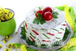 кабачковый торт рецепт с фото пошагово с помидорами
