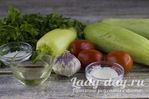 продукты для рецепта